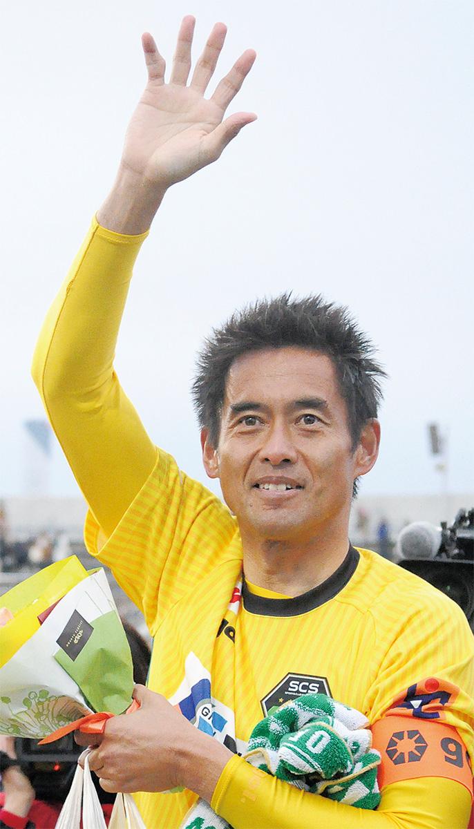 川口選手、完封勝ちで幕