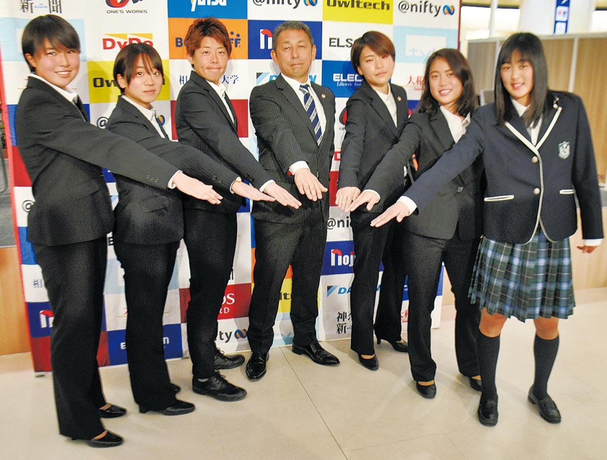 ノジマステラ神奈川相模原 「史上最高」を目指して 2020新体制発表 ...