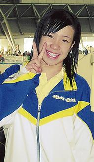「バサロで長く潜るのが背泳ぎの魅力」と宮崎さん