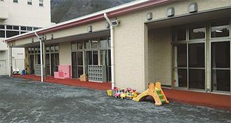 相模湖総合事務所の隣に完成した新園舎