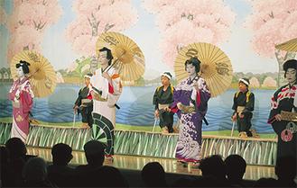 『子ども白浪五人男』を披露した藤野歌舞伎保存会