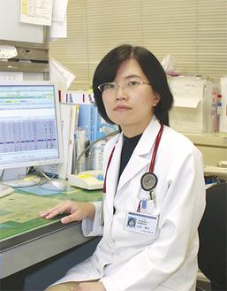 呼吸器内科診療部長・山本倫子医師