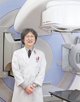 放射線科治療センター部長・福原昇医師