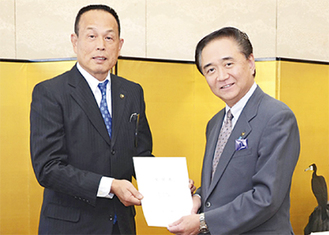 加山市長と黒岩知事