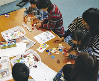 子どもが楽しめるアート体験も