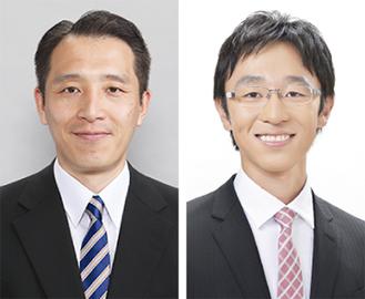 座談会に出席する南波氏(左)と田所氏