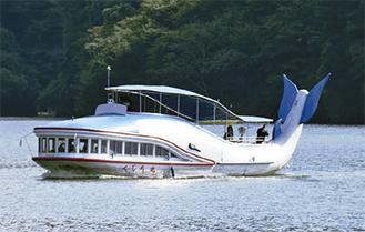 人気の相模湖遊覧船
