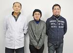 デザインを手掛けた杉村さん(中央)と相和会のメンバー