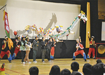 児童たちが出演した「りゅうのパレード」