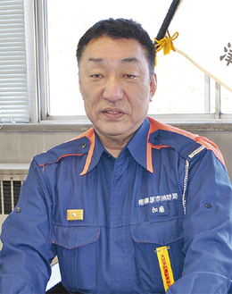 「住民間の相互扶助が重要」と加藤署長