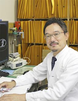呼吸器外科部長・安彦智博医師