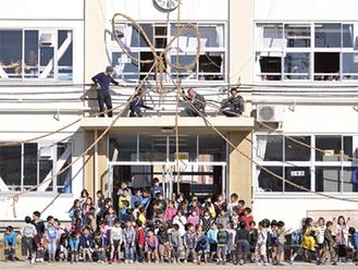 これまで、小学校など34カ所で「縛りプロジェクト」を行ってきた