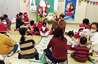昨年末に行われたクリスマスイベント