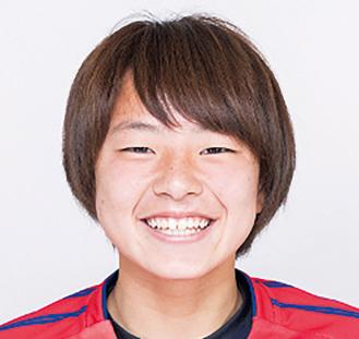 串川小・中出身の田中里穂選手