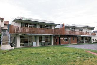 今年2月に完成した新園舎