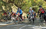 今年も城山で自転車レース