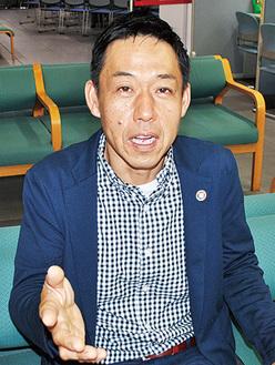「SDGs取組の先駆けに」と網野社長