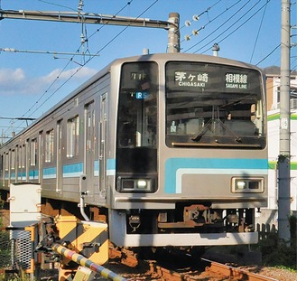 茅ヶ崎と橋本を結ぶ「JR相模線」