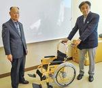 熊谷会長と城山商工経済同友会の樋口代表幹事(右)