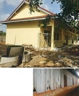 カンボジアの小学校再建