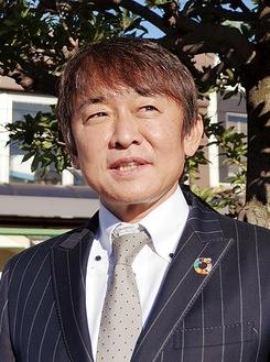 新年の意気込みを示す創業者柴田正隆氏(ウイッツグループホールディングス代表)