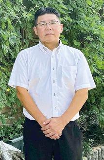新しく二本松商店街の会長に就任した秋本さん