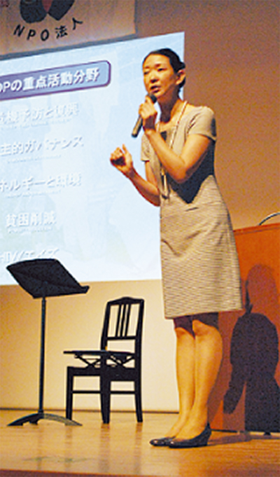 5周年講演に紺野さん