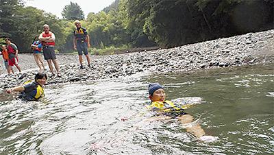 川の楽しみ・危険を学習