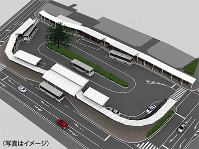 田名のバス拠点 7月着工