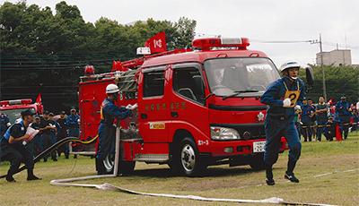 「消防団の甲子園」を目指して熱戦
