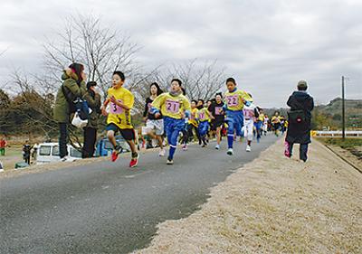 183人が健脚を競う