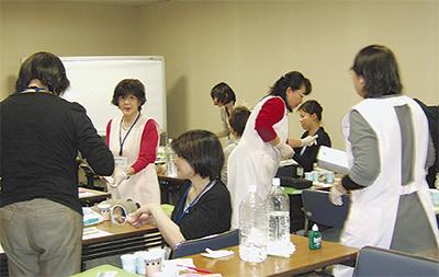 歯科衛生士の支援講習