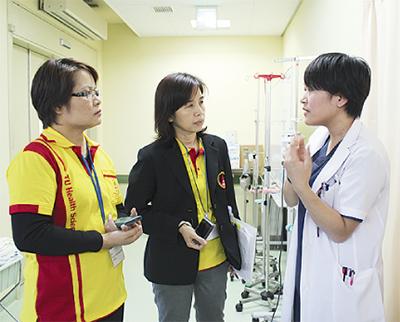 タイの看護師ら視察