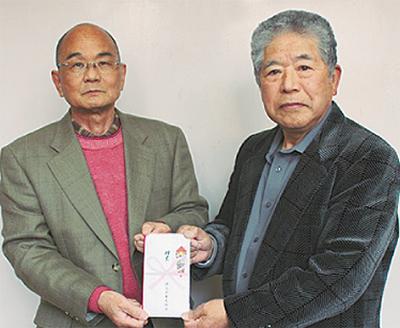 津久井観光協会が寄付