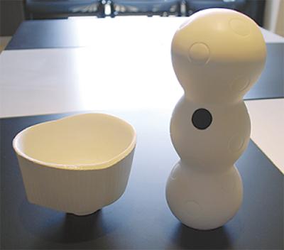 個性光る陶芸展