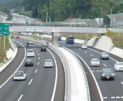 市内一般道の交通量減少