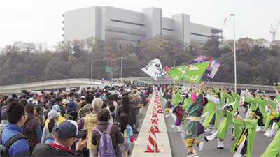3月29日、IC(インターチェンジ)と同時開通