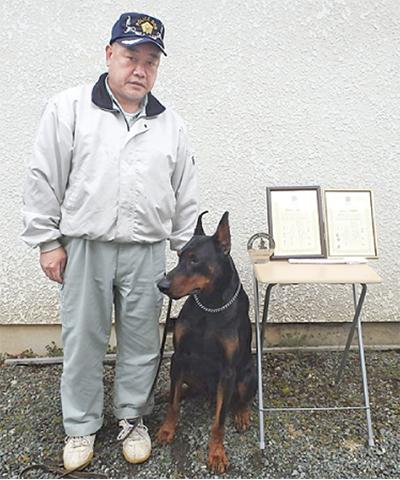 ドーベルマンが東日本一