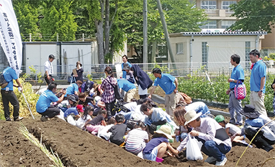 親子40人が食育を学習