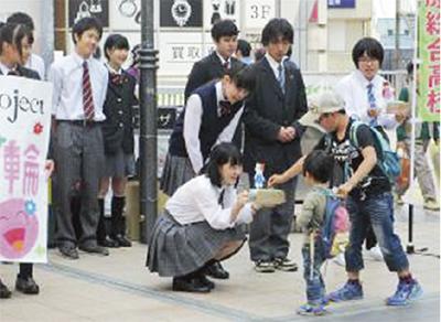 熊本支援で「笑顔の輪」広げ