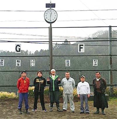 時計台、住民の善意で完成