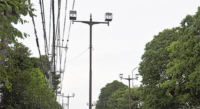道路照明灯、LED化へ