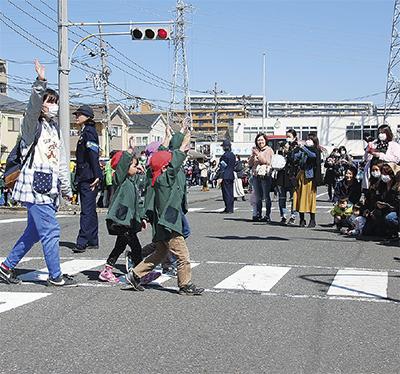 入学前に交通ルール学ぶ