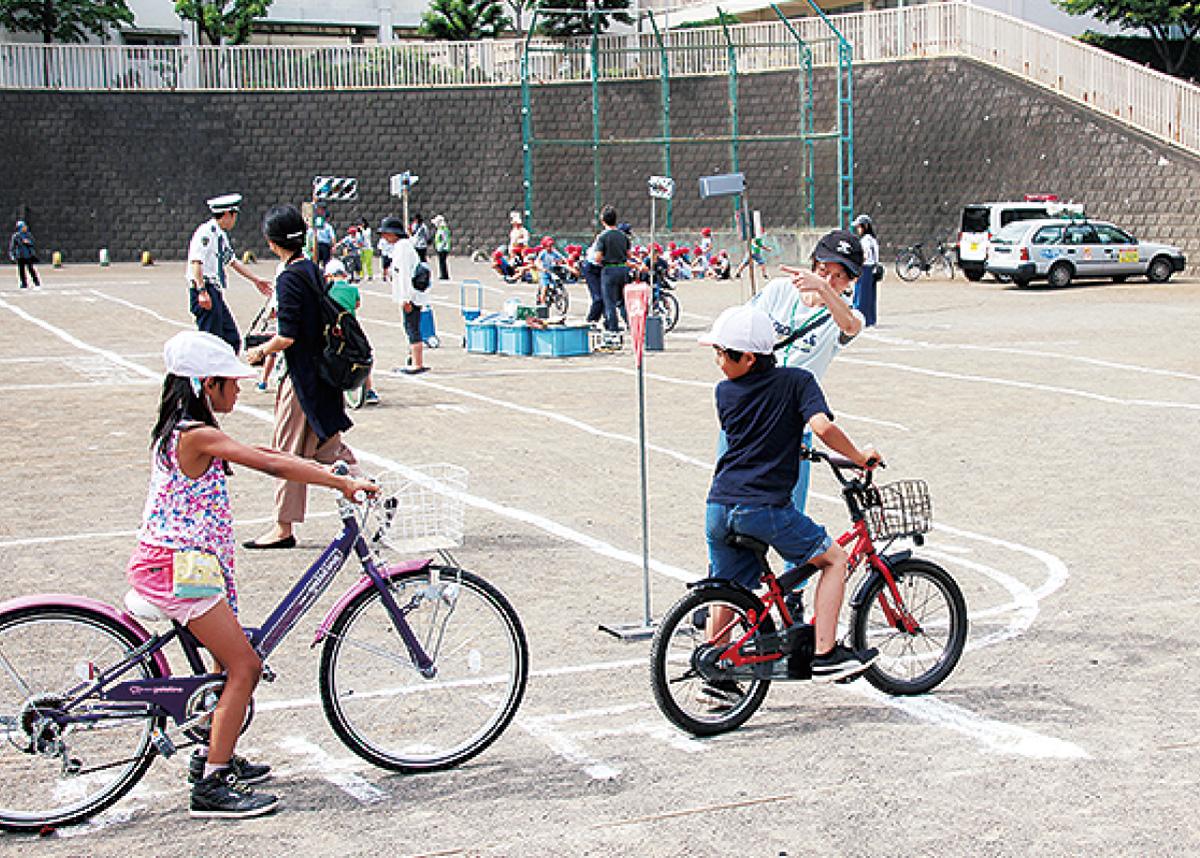 自転車ルールを確認
