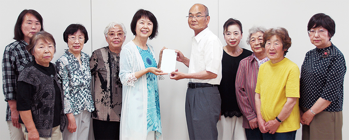 福祉と震災復興に寄付