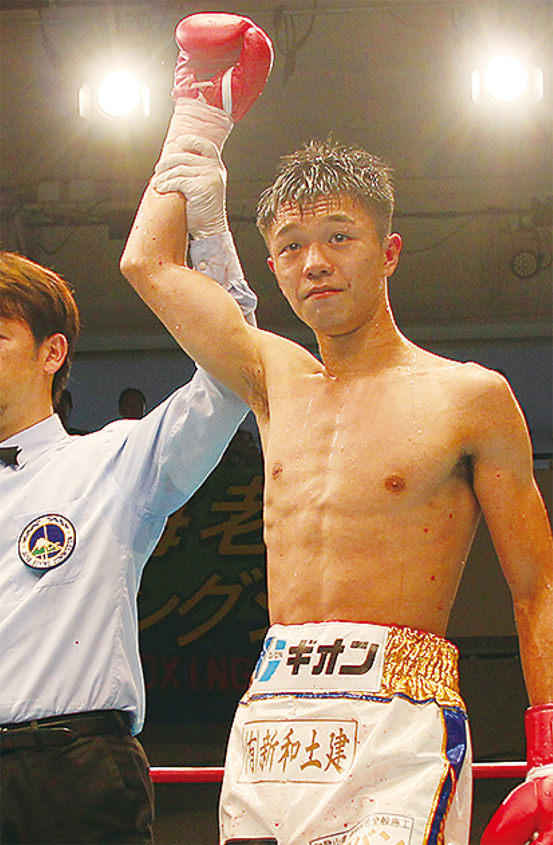 日本チャンピオンに王手
