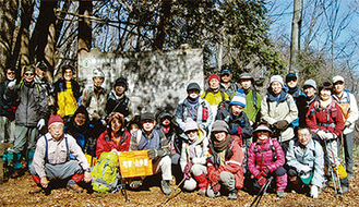 今年2月の山行ようす(提供写真)