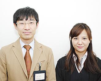 ▲コンシェルジュ担当の山田さん(左)と國仲さん(右)