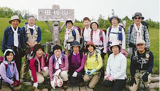 昨年6月、会津田代山で撮影(同クラブ提供)