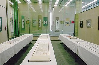 過去の展示の様子